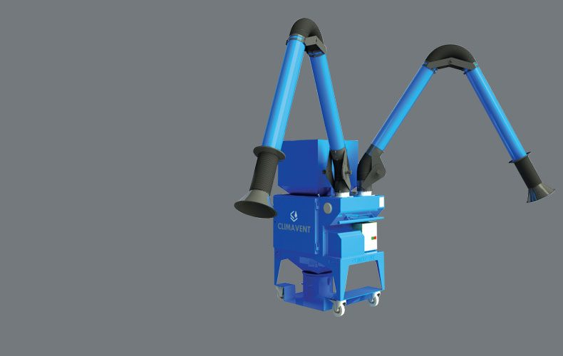 Hire Dust and Fume Extraction Systems from Climavent