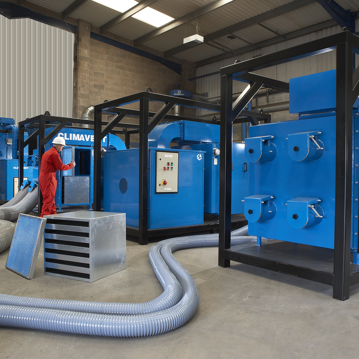 Mobile Paint Fume Extraction | Climavent